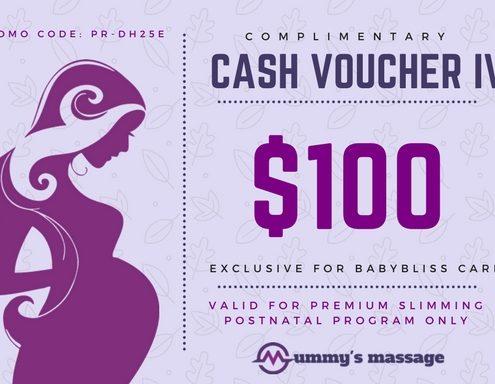 $100 Cash Voucher